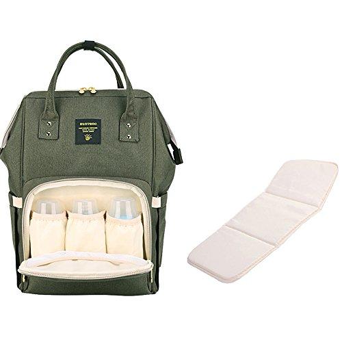 Del Mochila Gran Pañal Con La Multifunción Mat Sunveno Capacidad Las De Bebé Cambiando Para Mujeres Cambiante fI84qYx