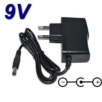 Top cargador® Adaptador alimentación cargador 9 V para bicicleta elíptica Domyos ve-530 ve530