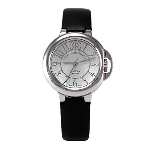 REVUE-THOMMEN-Womens-1090103-Cosmo-Lifestyle-Analog-Display-Swiss-Automatic-Black-Watch