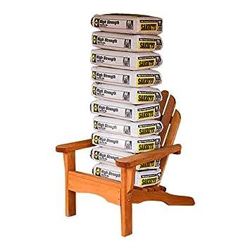 Amish Heavy Duty 800 Lb Pressure Treated Adirondack Chair Cedar