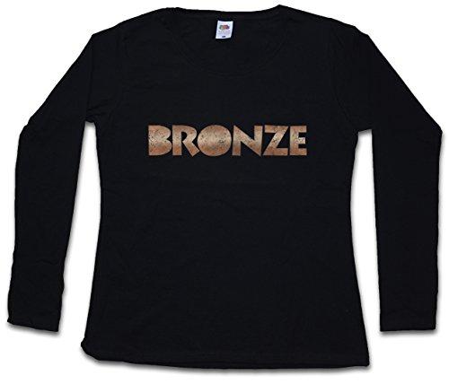 Urban Backwoods Bronze Woman Donna T-Shirt A Manica Lunga – Taglie XS – 2XL