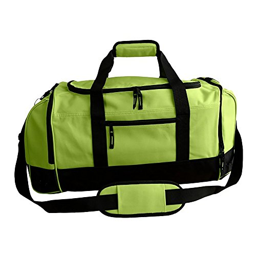 ID Large Sports Holdall Bag (40L) (One Size) (Lime)