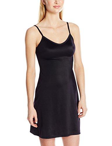 Vanity Fair Women's Plus Size Full Slip 10141, Midnight Black, 2X-Large Black Nylon Full Slip