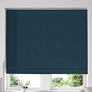 Blinds2Curtains Turquoise 100 x 280 cm Hadley Roman Window Blinds