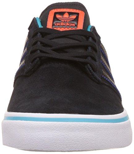 adidas SEELEY PREMIERE - Zapatillas deportivas para Hombre, Negro - (NEGBAS/AZUENE/NARENE) 44 2/3
