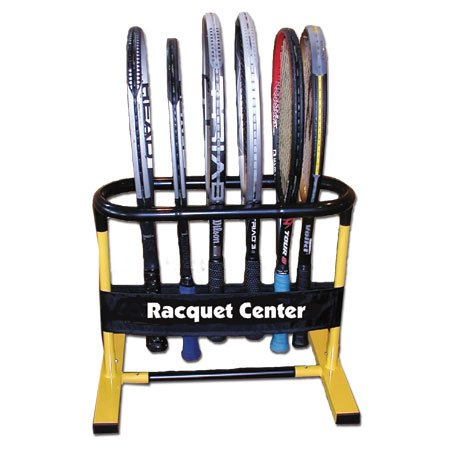 Oncourt Offcourt Tennis Racquet Holder – Holds Up to 15 Racquets/No-Scratch Surface