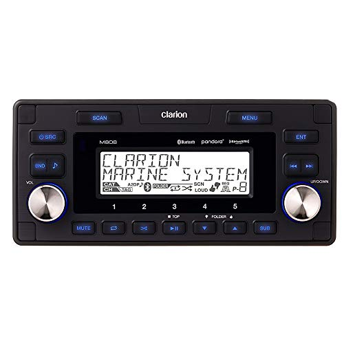 Clarion Marine Bluetooth Watertight 4-Zone Digital Media Receiver