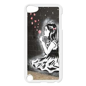 Banksy Graffiti Art Balloon Girl for Ipod Touch 5 Phone Case ATR021714