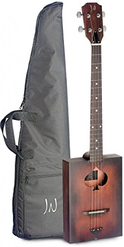 James Neligan 6 String Firkin Cask Series Acoustic Cigar Box Guitar with Gig Bag Included