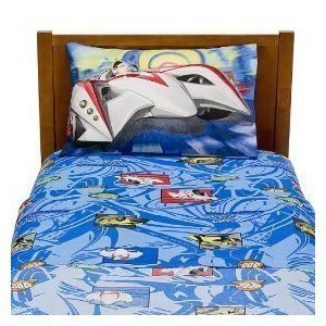 Warner Brothers Speed Racer Twin Sheet Set by Warner Brothers