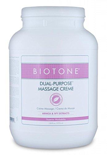 Biotone double usage Crème de Massage, 128 once
