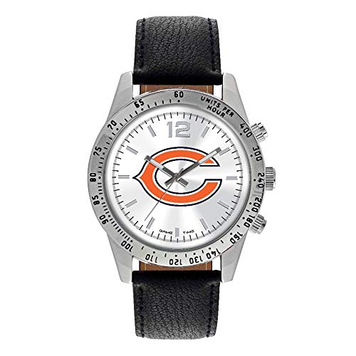 (Gifts Watches NFL Chicago Bears Letterman Watch)