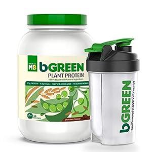 bGREEN by Muscleblaze Plant Protein Powder, 25g 100% VEGAN Protein powder, Complete Amino Acid Profile, Antioxidant Rich…
