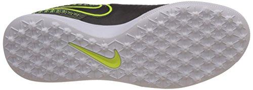 Nike Herren Magistax Finale TF Fußballschuhe Schwarz / Lime / Weiß (Schwarz / Schwarz-Volt-weiß)