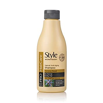 8e133eb42b Amazon.com   Style Aromatherapy - Pro Hair Care Series Shampoo (Intensive  Repair) 400ml   Beauty