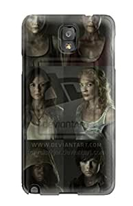 Galaxy Note 3 LBEgKPR424IHCcs Best The Walking Dead Season By Rclarkjnr Dhgq Tpu Silicone Gel Case Cover. Fits Galaxy Note 3