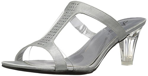 Annie Sandal Silver Women Shoes Tiger Dress RqUn0zaq
