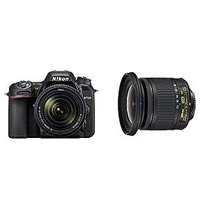 Nikon D7500 – Reflex numérique + AF S DX NIKKOR 18-140 VR et Nikon JAA832DA Objectif AF-P DX Nikkor 10-20 mm f/4.5-5.6G…