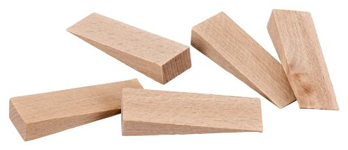 "Door Stops, Secure Wood Door Stoppers for Decor and Security, Chair Caning Tool, Decorative Door Holder | 2.65"" x 0.79"" x 0.47"" 