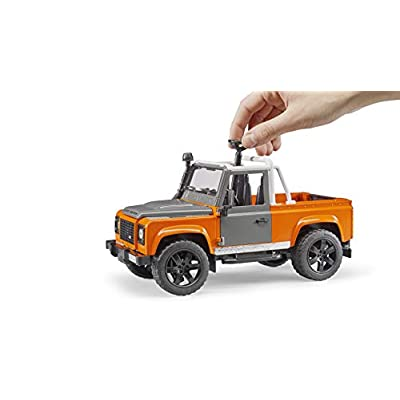 Bruder Toys Land Rover Defender Pick Up [Colors May Vary]: Toys & Games