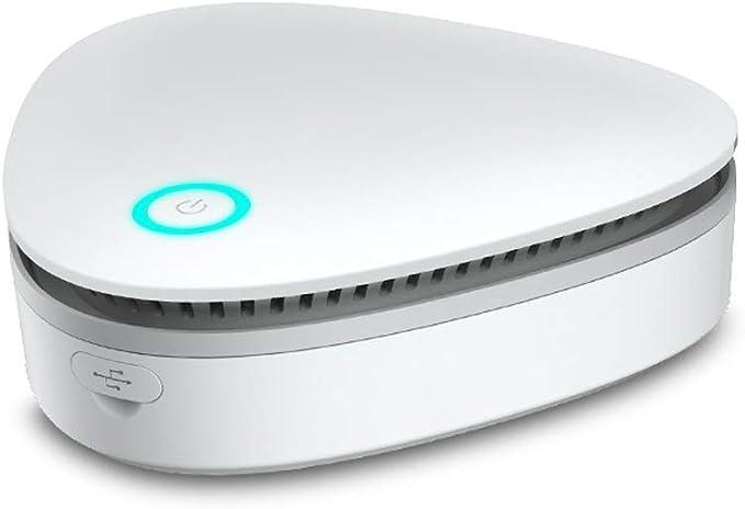 KKmoon Generador de ozono Portátil Purificador de aire para hogar Esterilizador de ozono Refrigerador doméstico ...