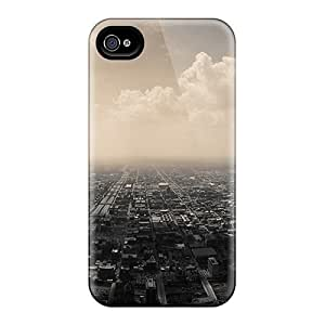 New Shockproof Protection Case Cover For Iphone 4/4s/ City Case Cover