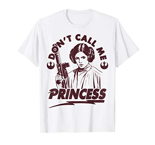Star Wars Leia Don't Call Me Princess Arch Graphic T-Shirt