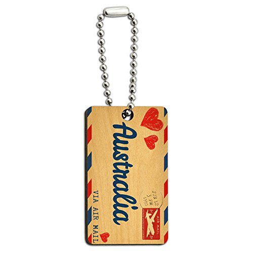 air-mail-postcard-love-for-australia-wood-wooden-rectangle-key-chain
