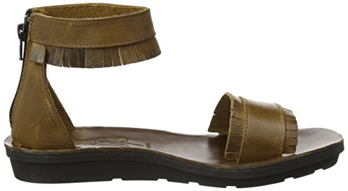 Fly London Damen Mexu914fly Sandalen Braun (camel 001)