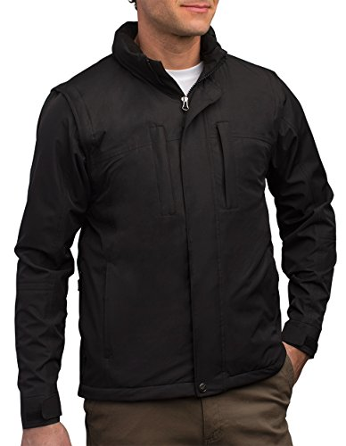 SCOTTeVEST Revolution - 26 Pockets - Travel Clothing, Pickpocket Proof XL Black