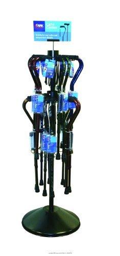 Designer Cane Spinner Rack Display, Designer Cane Spnr Rack Dsp-Sp, (1 EACH, 1 EACH) by APEX/CAREX HEALTHCARE