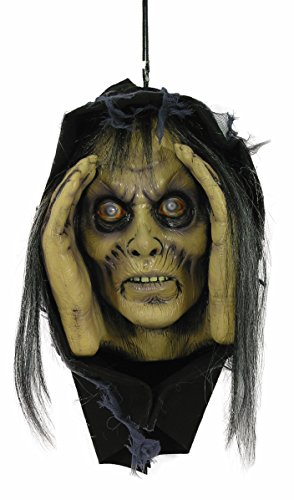 Scary Peeper Female Zombie Halloween Decoration Prop Lurking Tom -