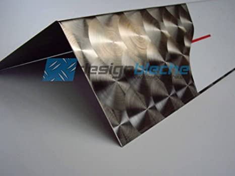 Ángulo de acero inoxidable 1,5 mm de grosor D50 redondo filo ...