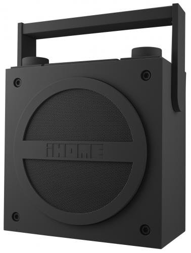 iHome iBT4GC Bluetooth Rechargeable Boombox with FM Radio