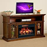 ChimneyFree Wallace Infrared Electric Fireplace Entertainment Center in Empire Cherry – 26MM1264-EPC Review