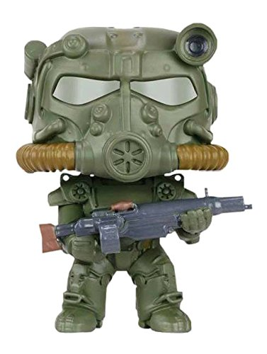 Funko Pop Fallout Green T-60 Power Armor Vinyl Figure RARE