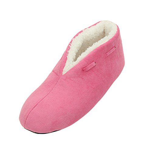 Home Slipper Unisex Womens Mens Adult Light Soft Coral Plush Indoor House Anti-Slip Slippers Shoes