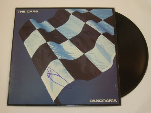 (The Cars Panorama Ric Ocasek Authentic Signed Autographed Lp Record Album Vinyl Loa )