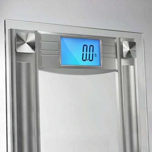 Slimsmart Digital Bathroom Scale Extra Large Lighted Digital Import It All