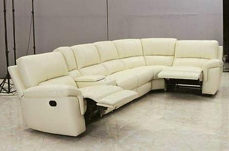 Amazon.com: iD-505SRC - Juego de sofá de piel de grano con ...