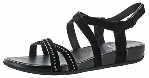 7b77d9fedc7d24 FitFlop Womens Lumy Criss Cross Sandal Shoes
