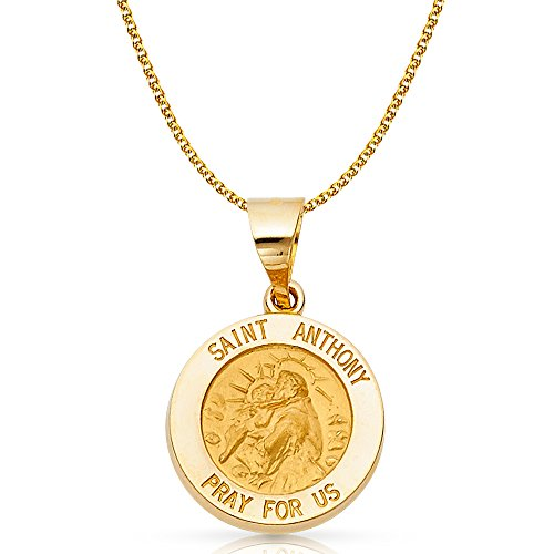 14K Yellow Gold St. Anthony Ch