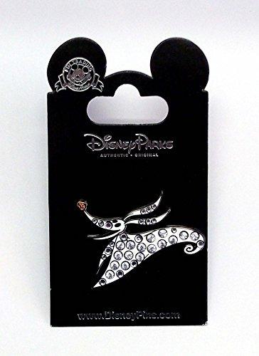 Disney Pin Nightmare Before Christmas Zero Jeweled Pin