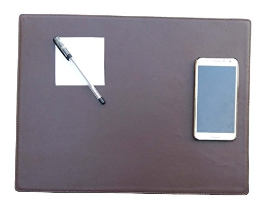 Genuine Leather Desk Pad/writing Pad, 17 Inches By 13 Inches,brown by Red Spider