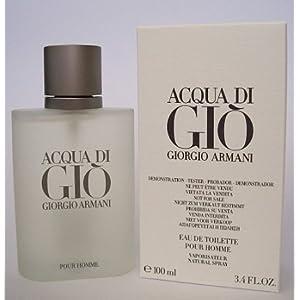 Acqua de Gio [TESTER] 3.4oz Eau de Toilette spray Cologne for Men [WHITE BOX]