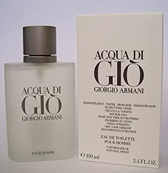af52ada51924 Amazon.com   Acqua de Gio  TESTER  3.4oz Eau de Toilette spray Cologne for  Men  WHITE BOX    Beauty