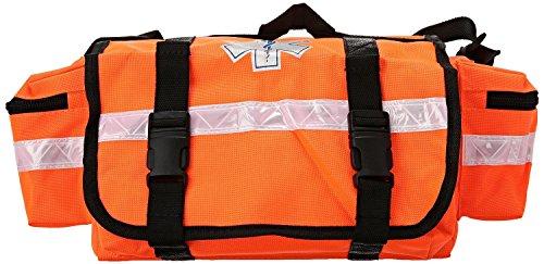 (Dealmed First Responder Trauma Bag (Orange - Fully Stocked))