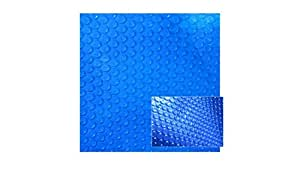 Blue Wave 21-ft Round 8-mil Solar Blanket for Above Ground Pools Blue