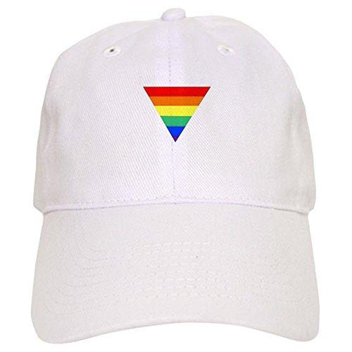(CafePress Rainbow Triangle Cap Baseball Cap with Adjustable Closure, Unique Printed Baseball Hat)