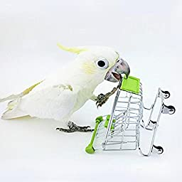 Lovely Bird Pet Toys Supermarket Shopping Cart Kids Intelligence Growth Box The Best Of Funny Toy